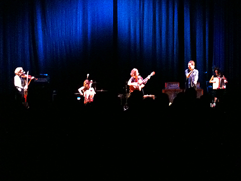 Emily Barker & The Red Clay Halo (Anna Jenkins, Jo Silverston, Emily Barker, Gill Sandell) with Frank Turner