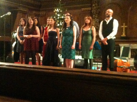 The Unthanks at St James's Church, Piccadilly, London (2 December 2011)