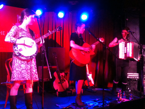 Emily Barker & The Red Clay Halo [L-R]: Jo Silverston, Emily Barker, Gill Sandell