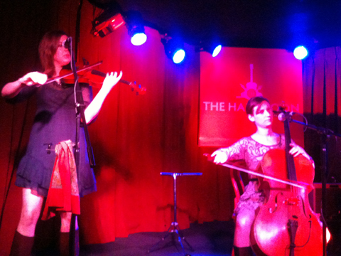 Emily Barker & The Red Clay Halo [L-R]: Anna Jenkins, Jo Silverston