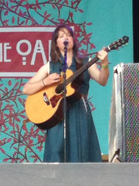 Emily Barker - Folk By The Oak, 22 July 2012