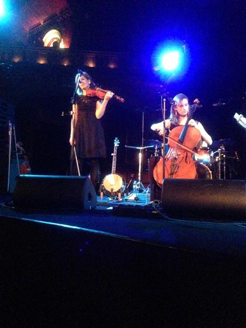 Emily Barker & The Red Clay Halo at Union Chapel, Islington (21 November 2012)