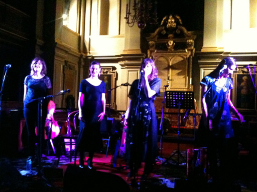 Emily Barker & The Red Clay Halo at St. Giles-in-the-Fields, London (24 February 2011)