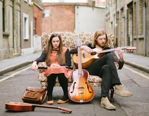 Josienne Clarke and Ben Walker