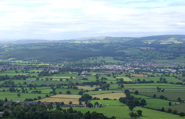 Looking towards Ruthin