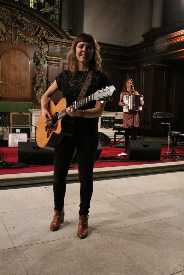 Photo of Emily Barker at St James's Church © 2014 by J. Halliday