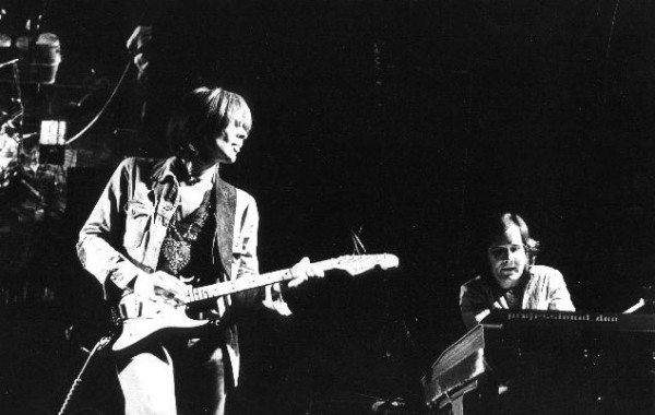 Michael and Irmin onstage (image via Spoon Records)